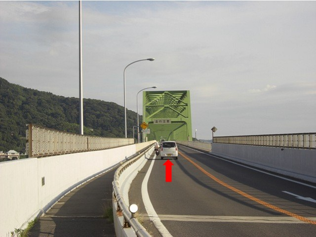 国道437号線大島大橋入口